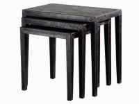 Z1002 Leather Nesting Table