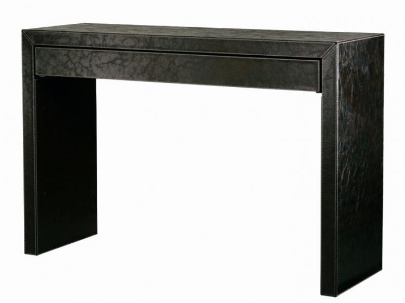 Z1005 Leather Sideboard Table