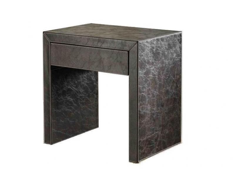 Z1025 Leather Nightstand